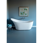 Austin 67 Inch Acrylic Contemporary Slipper Tub - No Faucet Drillings