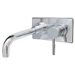 Single-Handle Wall Mount Bathroom Faucet